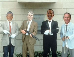 1 a presidents macked
