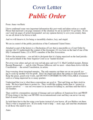 Papal Dacree Public Notice