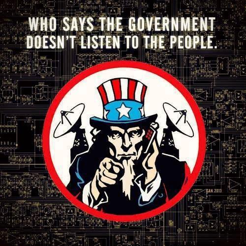 ! ! ! A A A GOV LISTENS