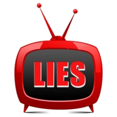 !  ! ! media lies