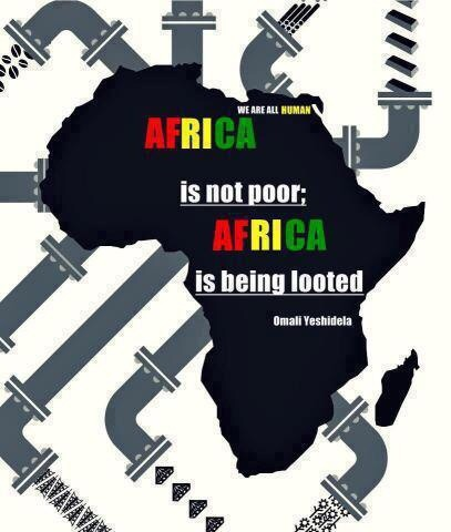 !  !  !  A  A  A  AAFRICA LOOTED