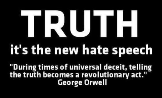 Truth hate speach