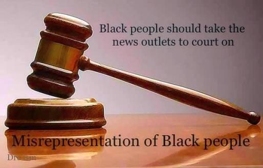 Demonization of blacks by MSM