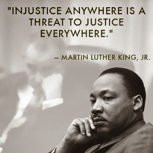 MLK INJUSTICW