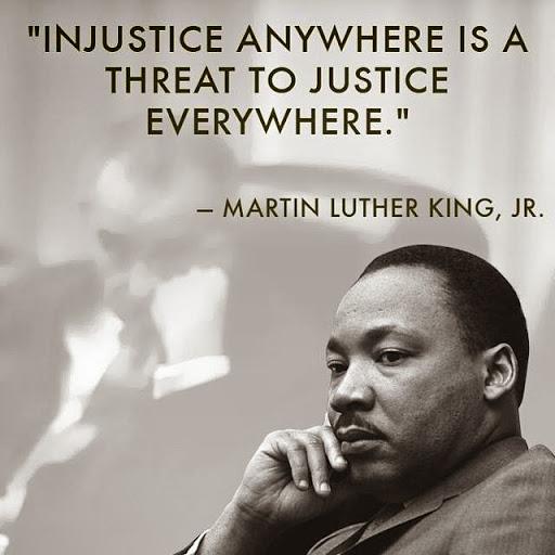 MLK INJUSTICW
