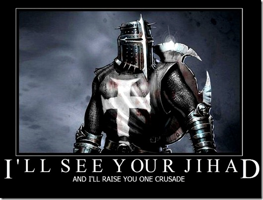 Clash of Civilization Jihad Crusade