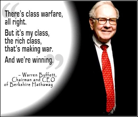 CLASS WARFARE BUFFIT