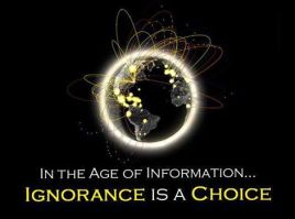Internet Age and Ignorance