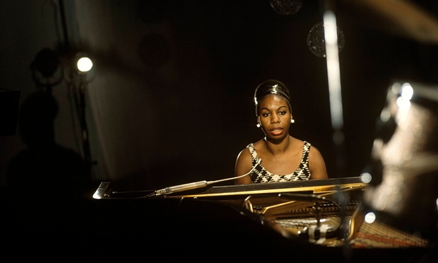 Nina Simone ready to burn