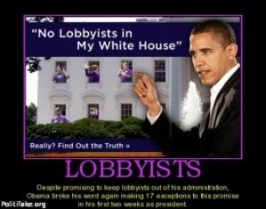 Lobbying Obama