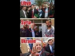 MCcaine terrorist libya ukrainf Syria Treasonous -Al Qaeda