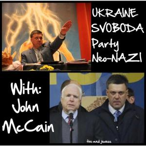 Mccaine Terrorist-Supporting Nazis Ukraine