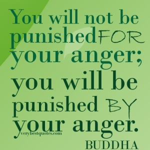 Punished by your anger