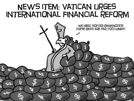 Pope Call for Financial Reform