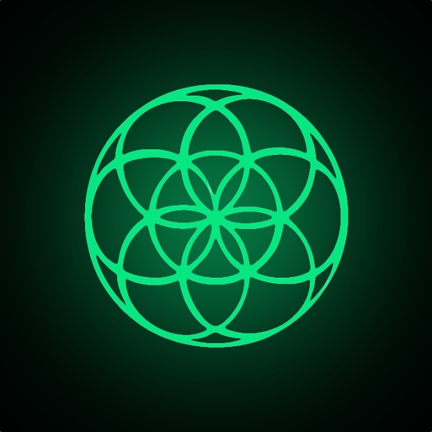 Seed of Life -Glow-In-The