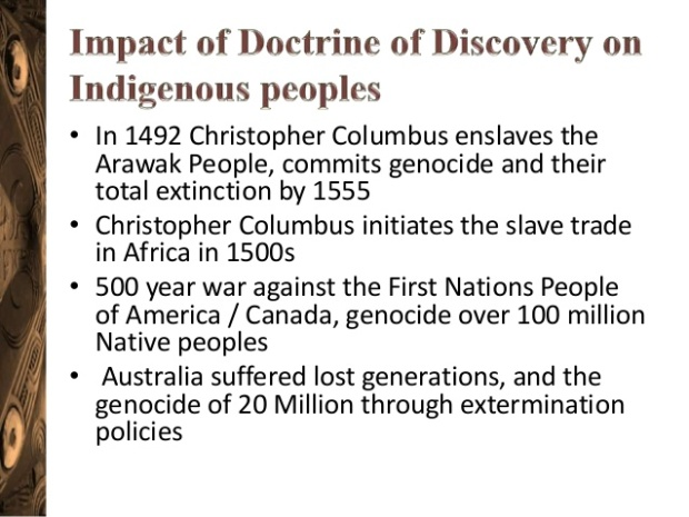Papal impact historical-intergenerational-trauma-the-doctrine-of-discovery-8-638
